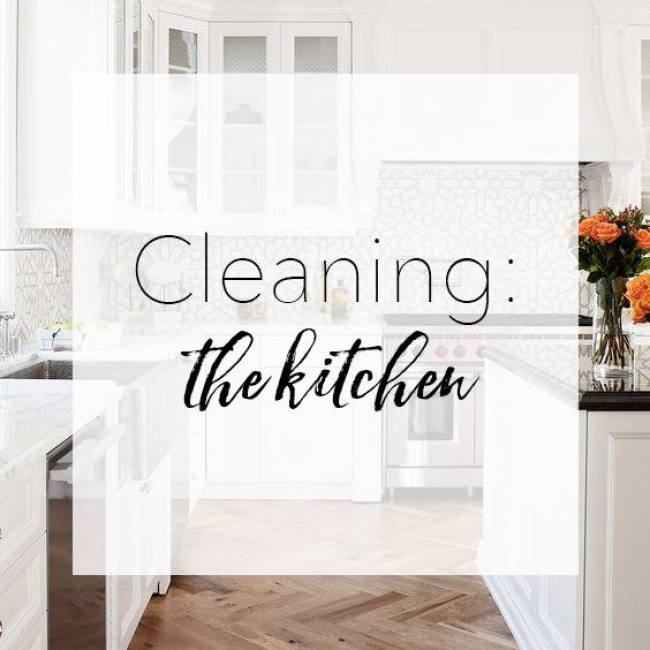 chemical-free cleaning kitchen