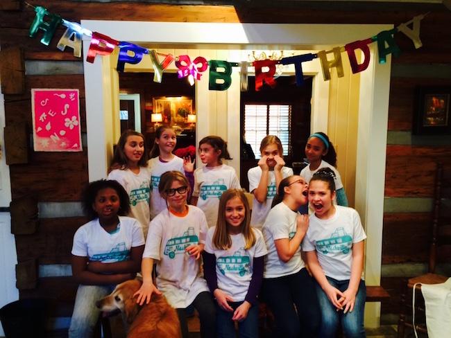 KIDS Birthday party tees