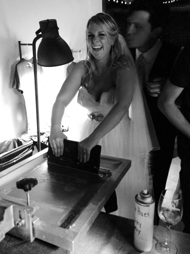 WEDDING Bride Printing