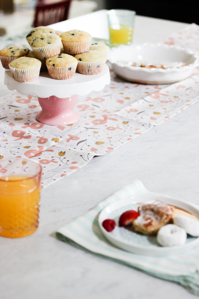Spring Pillow Picnic Playdate with Minted