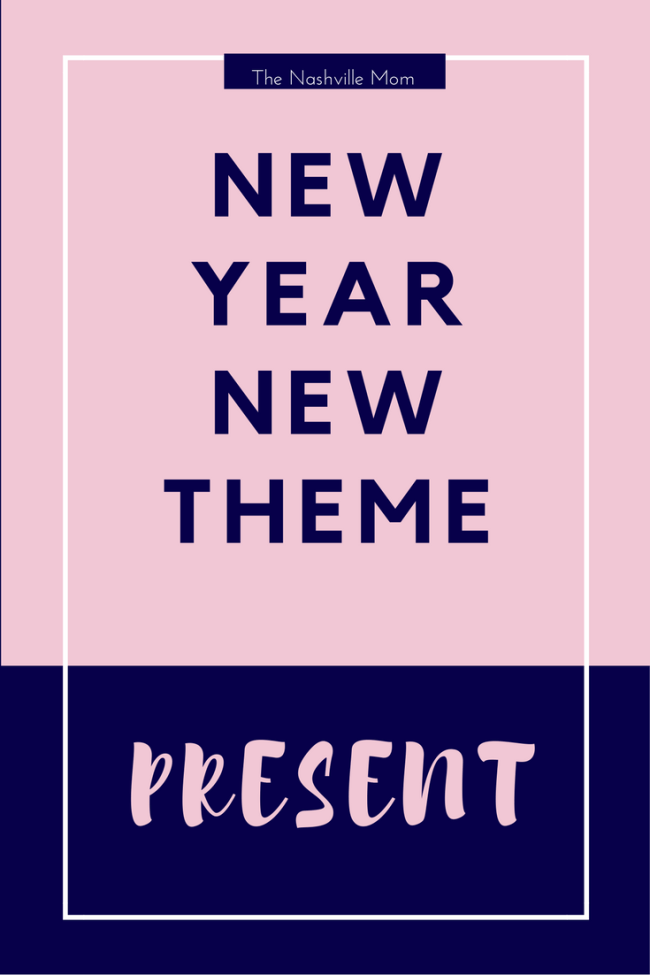New Year Theme: Present