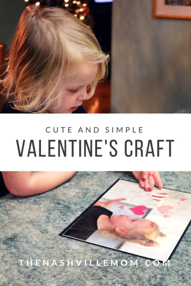 cute and simple Valentine's craft