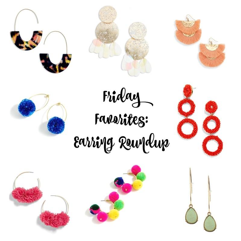 Friday Favorites: Earrings Roundup