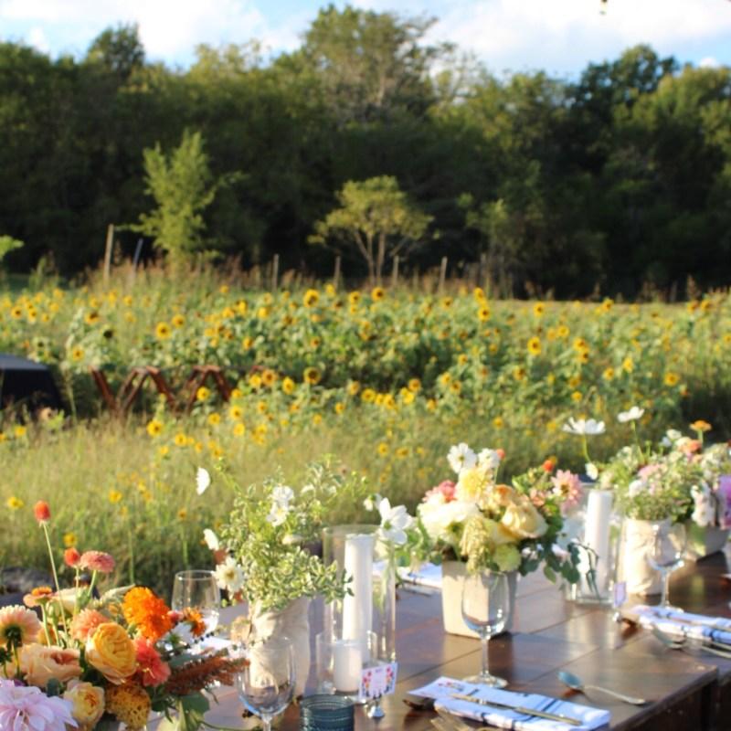 Green Door Gourmet Field to Vase Dinner