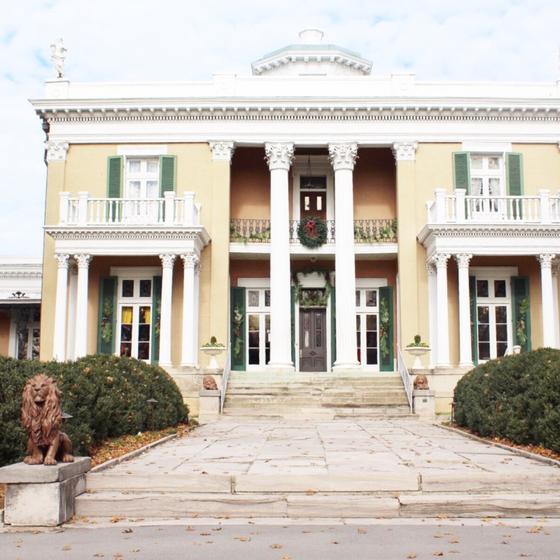 Christmas at Belmont Mansion