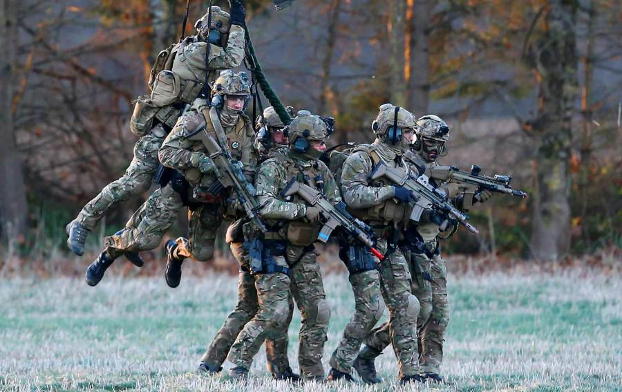 The Military Industrial Complex Is Fundamentally Changing the     Belgian Special Forces during the Black Blade military exercise involving  several European Union countries  organized by the European Defence Agency