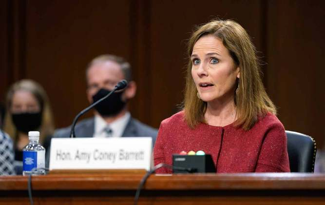 Amy Coney Barrett Displays Her Twisted Views on Voting Rights | The Nation