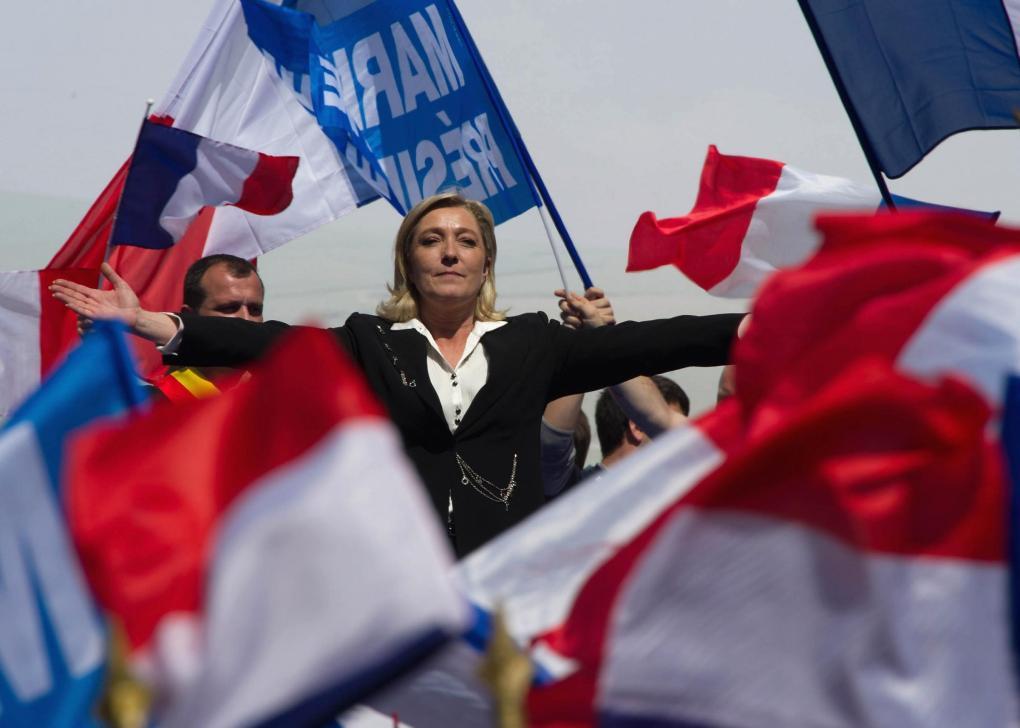 The National: Marine Le Pen
