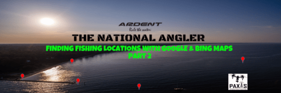 Finding Fishing Spots with Google & Bing Maps