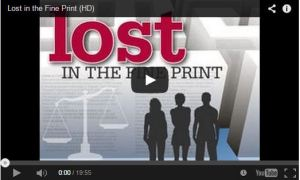 Lost in the Fine Print documentary
