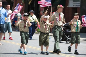 Former youth scout was victimized by a Boy Scout Troop leader at overnight camp.  Boy Scout material encouraged youth to spend time alone with Troop Leaders.