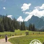 self guided hiking, Carpatian mountains, Poland, low land walking