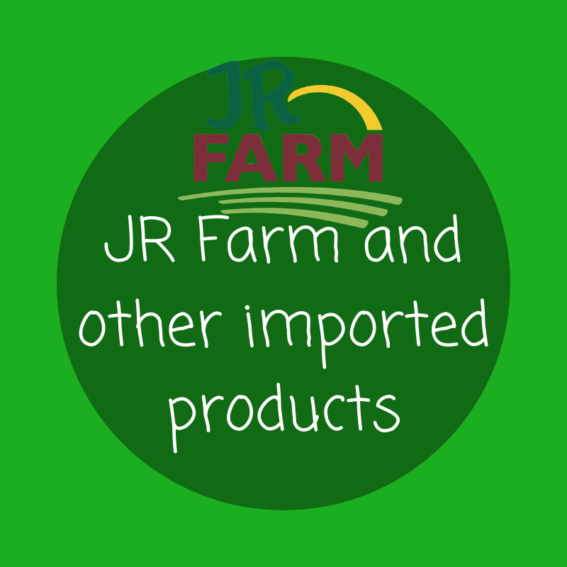 JR Farm and other imported products