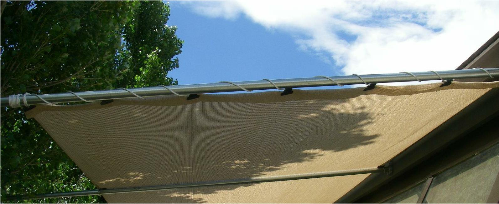 custom size pergola cover patio canopy