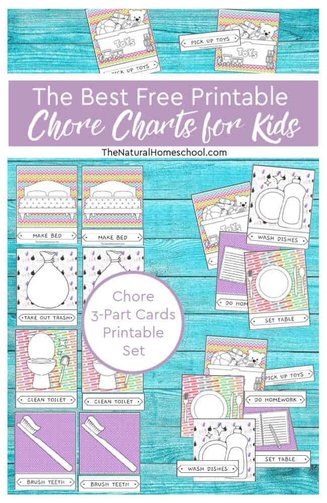 The Best Free Printable Chore Charts For Kids The Natural