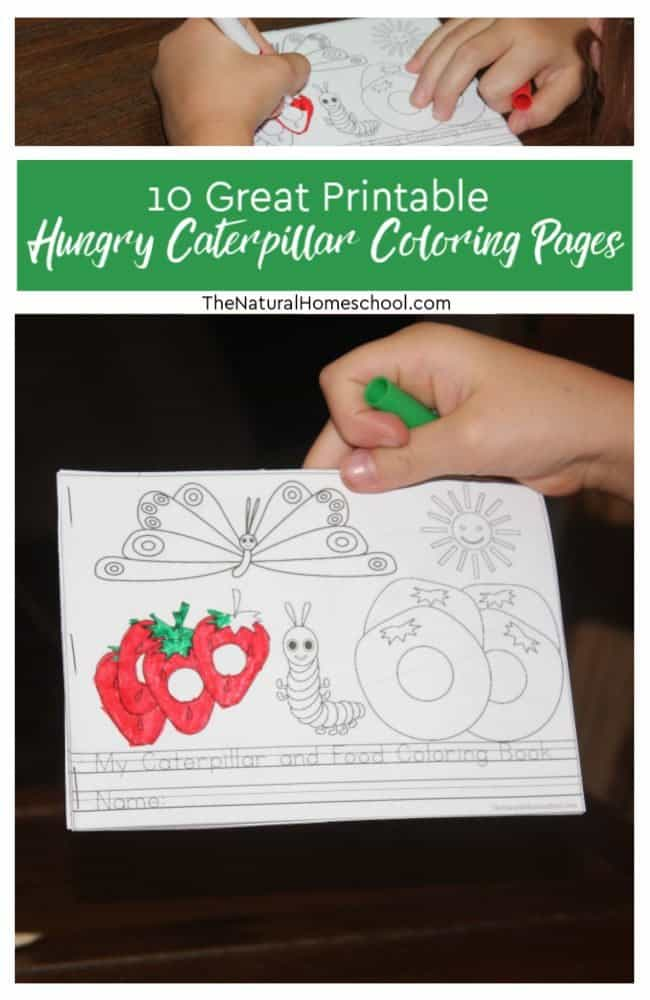 10 Of The Greatest Printable Hungry Caterpillar Coloring Pages In The World The Natural Homeschool