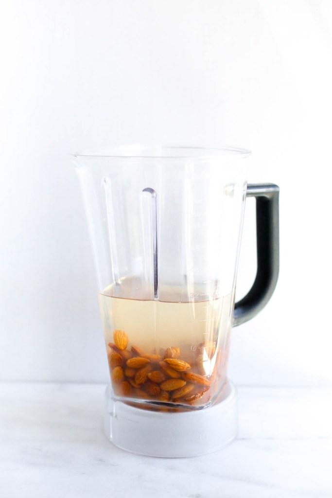 cinnamon vanilla homemade almond milk
