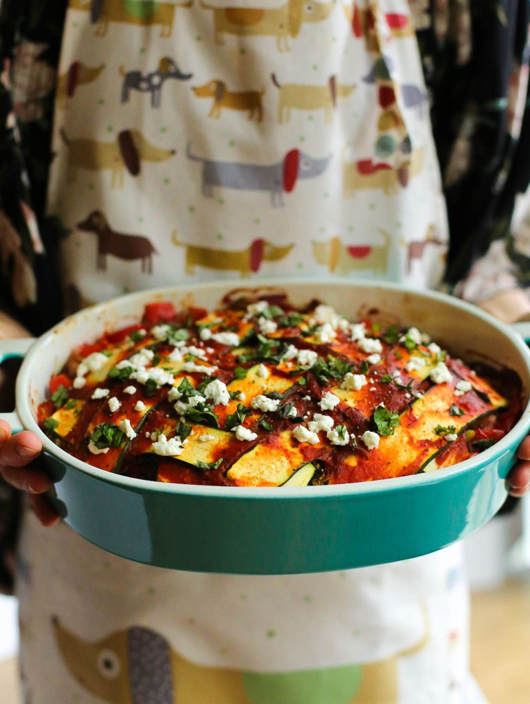 zucchini, lasagna, everyday meals, comfort foods, healthy, dinner, gluten-free, dairy-free, vegan