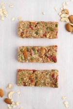 HEALTHY GOJI & NUT GRANOLA BARS