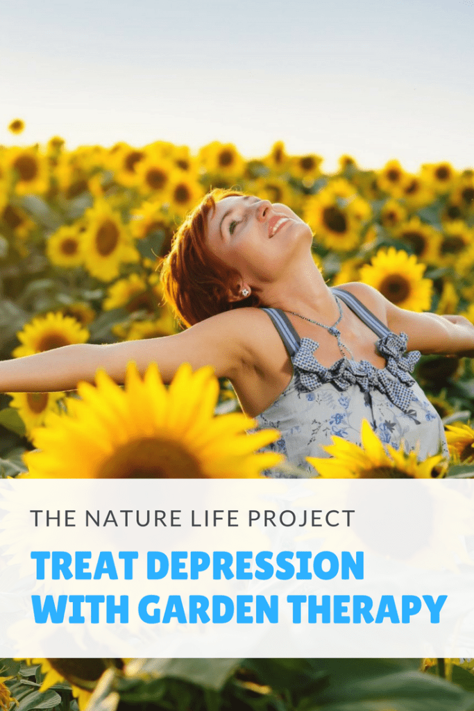 Treat Depression with Garden Therapy
