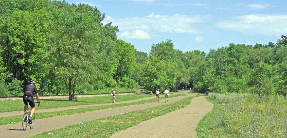 Cedar Lake Park Trail, Minneapolis, 2007