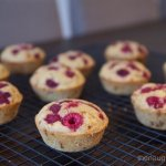 Banana and Raspberry Muffins Gluten Free
