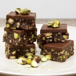 Chocolate Pistachio Hedgehog Slice Gluten Free