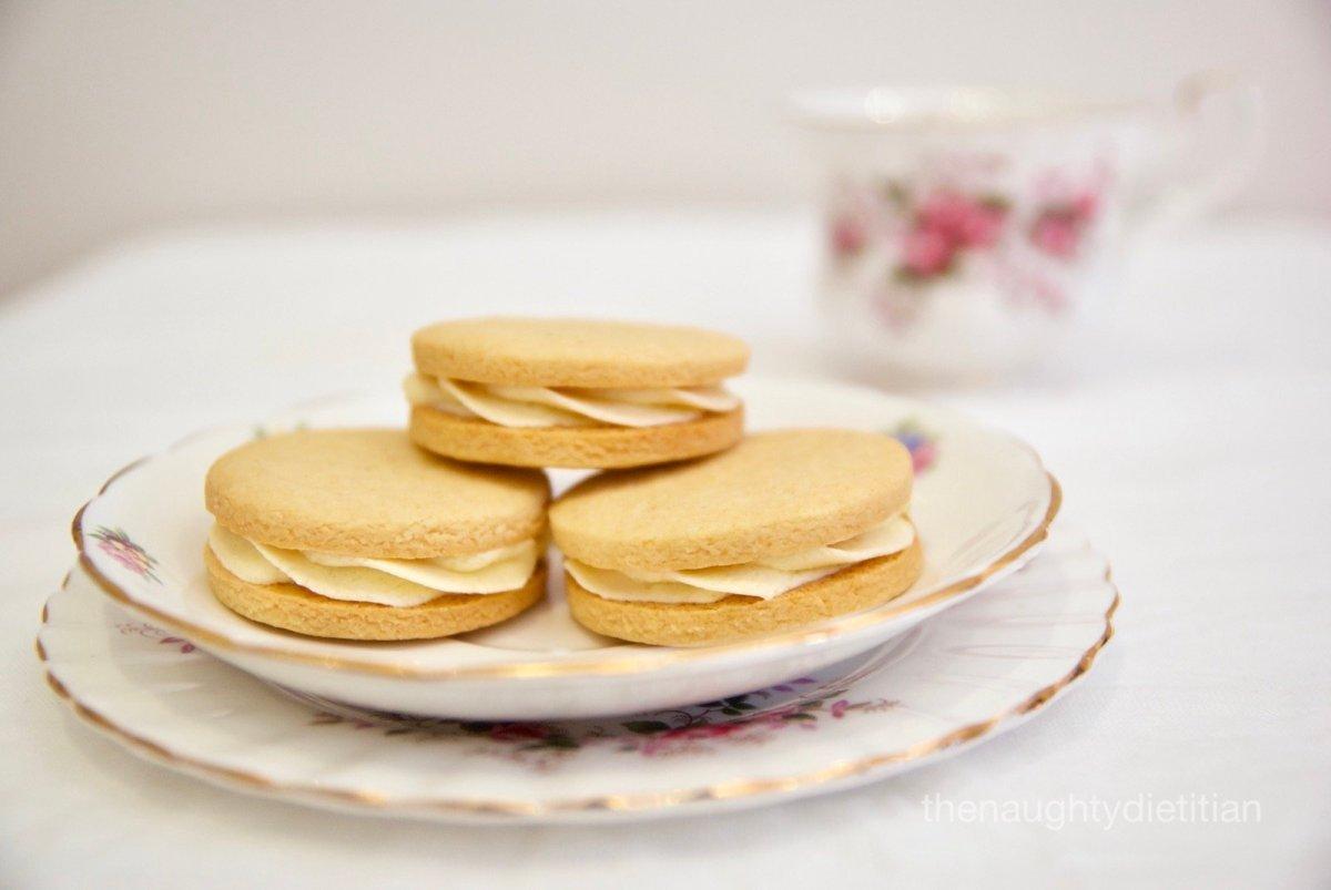 Gluten Free Passionfruit Cream Biscuits