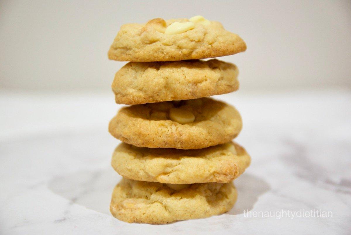 Gluten Free White Chocolate Macadamia Biscuits