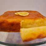 Gluten Free Lemon Yoghurt Syrup Cake