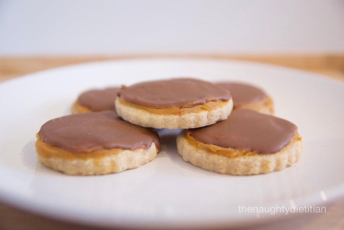 Gluten Free Twix Biscuits