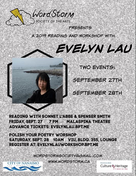 Evelyn Lau VIU