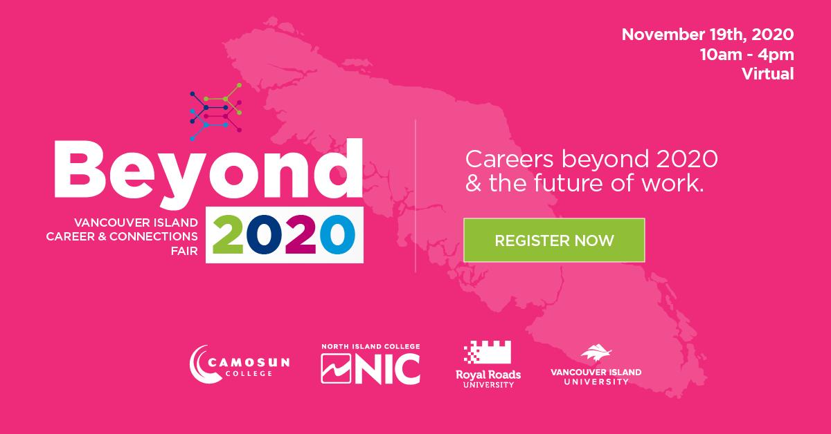 Beyond 2020 logo and registration link.