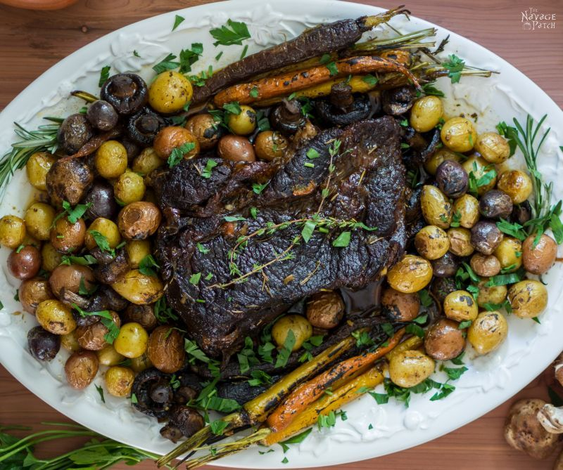 The Roast Post - A Recipe for the Finest Pot Roast | TheNavagePatch.com