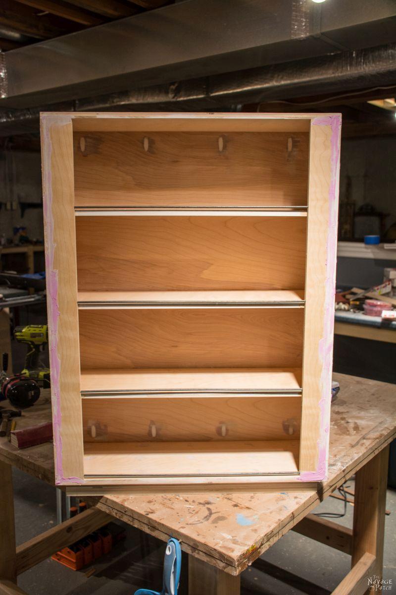 Diy Rolling Jar Storage Shelves The Navage Patch