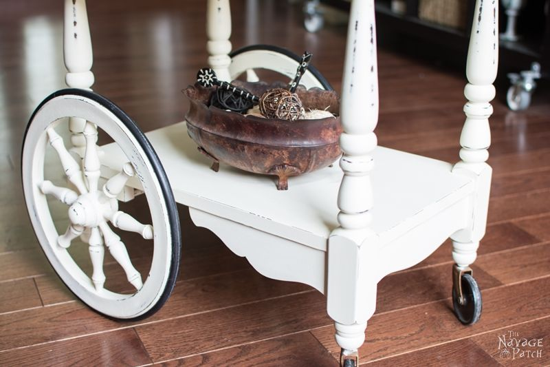 Tea Cart Makeover The Navage Patch