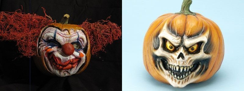Pumpkin Carvings by Jon Neill