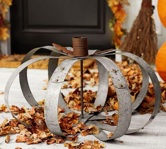 PotteryBarn-outdoor-galvanized-pumpkin