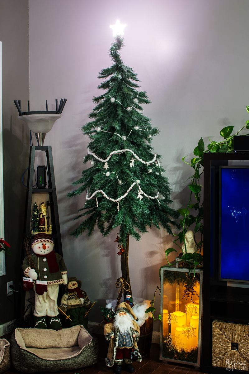 Diy Christmas Decor From An Old Fake Xmas Tree The Navage Patch