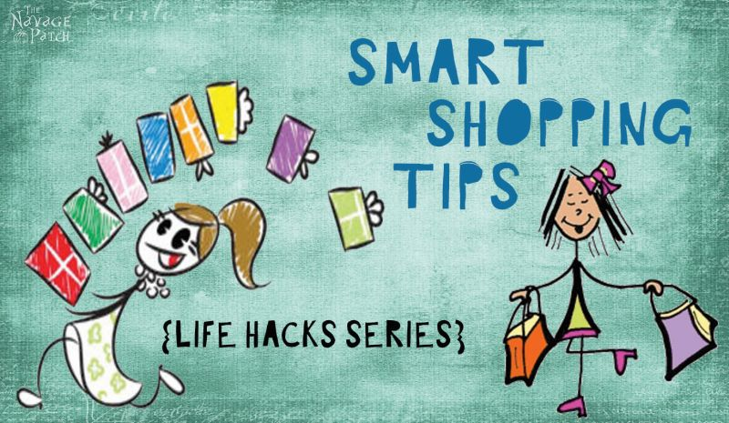 Smart Shopping Tips {Life Hacks Series} | How to save money when shopping | How to use Google image search | How to easily find the same product for cheaper | How to find coupons that work | TheNavagePatch.com