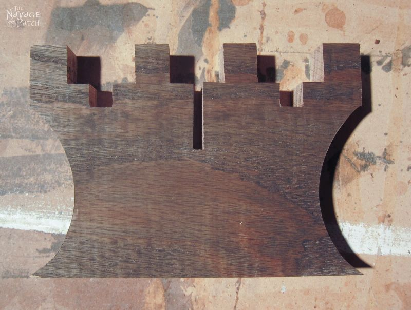 Rustic Wooden Keys Inspired by Pottery Barn | Pottery Barn Knockoff | DIY Wooden Keys Wall Art | How to Make Rustic Wooden Keys | Simple Woodworking and Crafts | Farmhouse Style Home Decor | Easy and Budget Crafts | TheNavagePatch.com