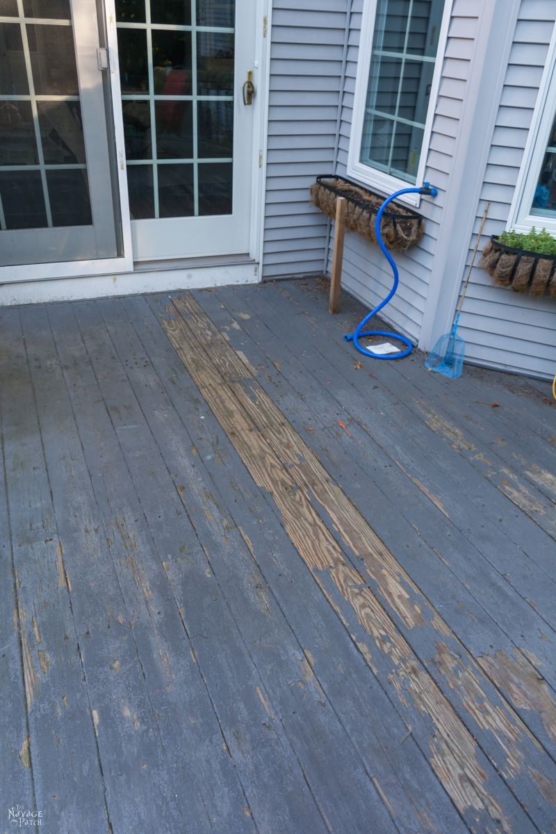 The New Deck | Trex Deck design ideas | Things to consider when choosing a decking material | How to find a deck contractor | Why we chose composite decking | Composite deck vs pressure treated wooden decks | Tips on Home Depot's pro desk | How to get great discounts at Home Depot's pro desk | How to plan a new deck | How to design a deck| Trex Deck Vintage Lantern and Spiced Rum | Guardrails vs deck benches | A deck before and after | TheNavagePatch.com