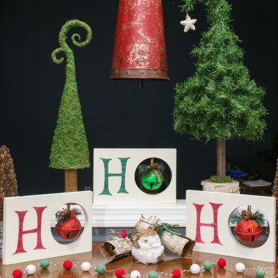 HO HO HO Christmas Decor - The NavagePatch.com