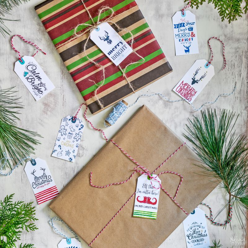35 Free Printable Christmas Gift Tags| Free Printable #Christmas Gift Tags | Easy, budget friendly Christmas gift wrapping | Beautiful DIY Christmas gifts | #ChristmasFreePrintable | #FreePrintable Festive #GiftTags | TheNavagePatch.com
