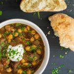 Turkish Chick Pea Stew (Etli Nohut) | TheNavagePatch.com