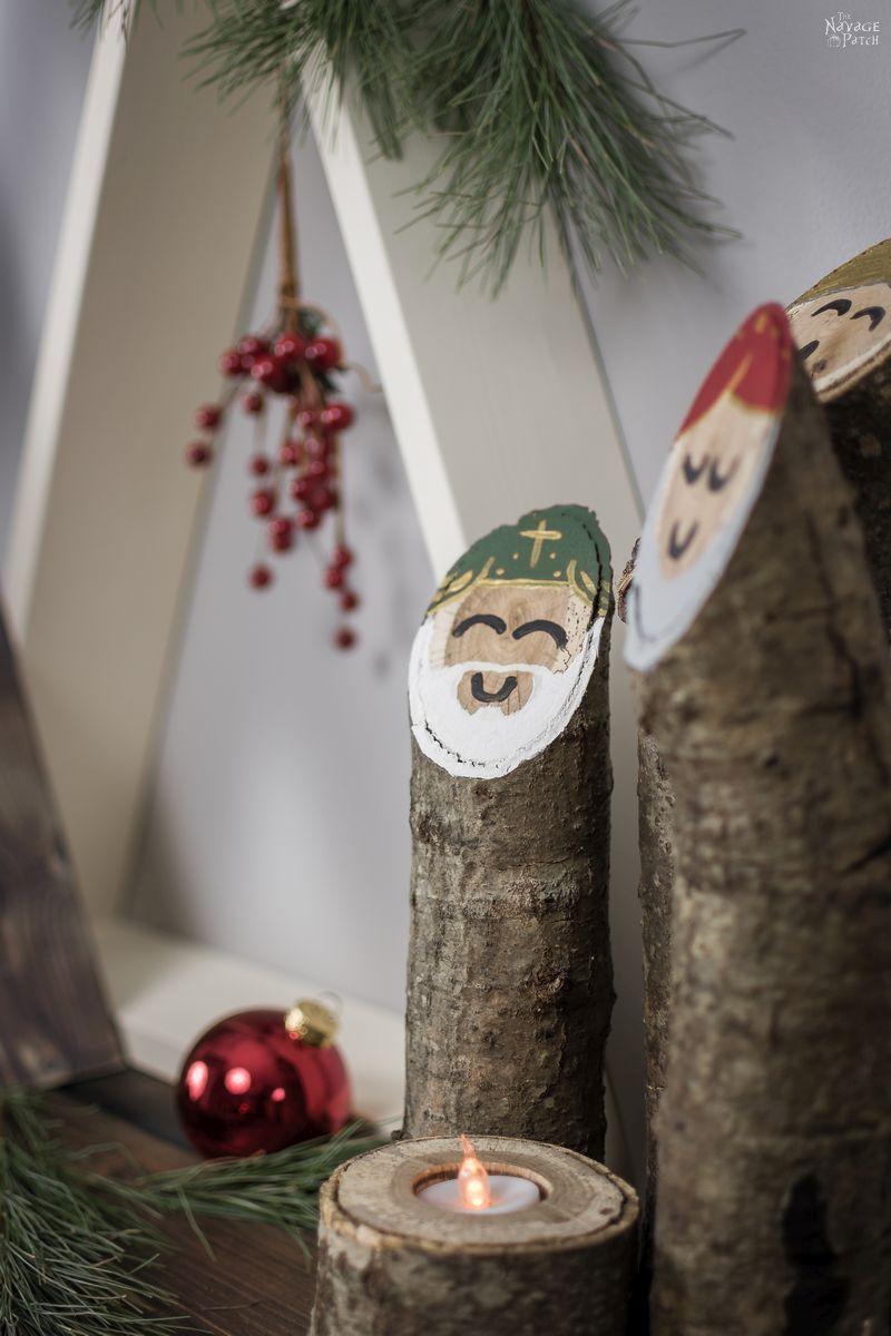 DIY Minimalist Wooden Christmas Tree   The simplest and easiest DIY wooden Christmas tree   How to make a wooden Christmas tree   Easy and budget friendly DIY Christmas decorations   #ChristmasDecor #DIYChristmasdecor #HandmadeChristmas #Christmascrafts #MinimalistHome   TheNavagePatch.com