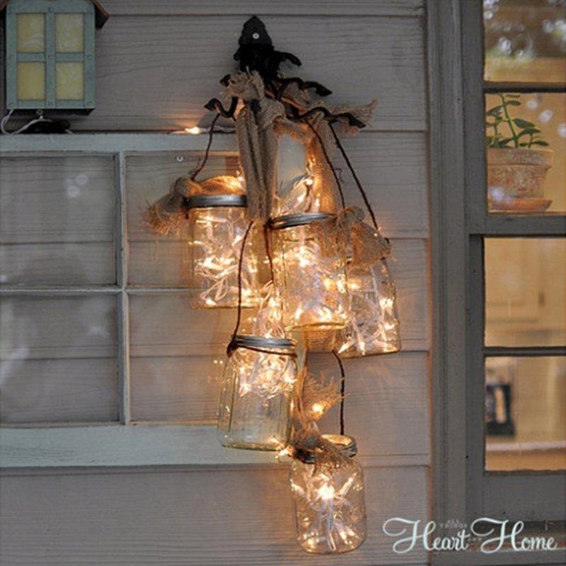 Creative and easy DIY outdoor lighting | DIY outdoor solar lights | DIY outdoor lights