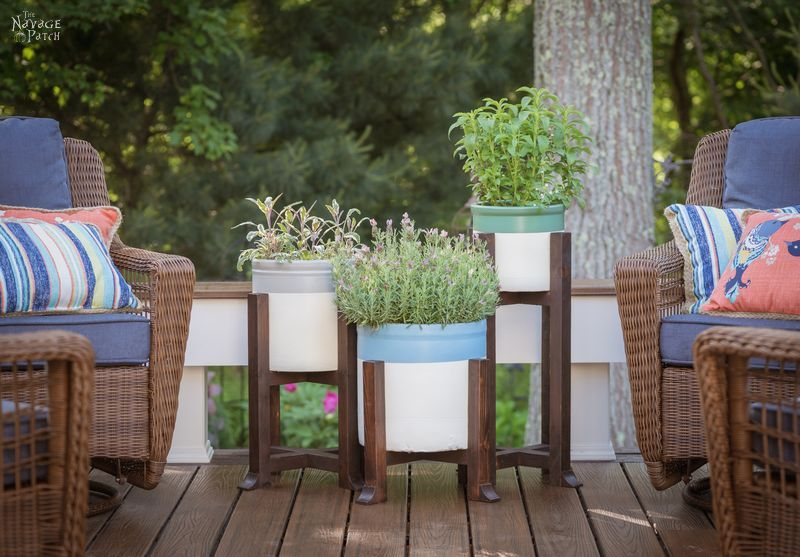 DIY Planter and Plant Stand