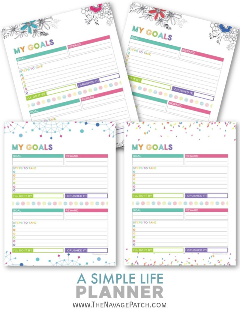 With this FREE printable Life Planner organize your daily, weekly and monthly schedule, take control of your finances, track your goals and habits, plan your meals, and keep your important information all in one binder!   Free organization printables   Free printable planner   Daily planner printables   Weekly planner printables   Free printable weekly meal planner   #TheNavagePatch #FreePrintable #LifePlanner #Calendar #Freeplanner   TheNavagePatch.com