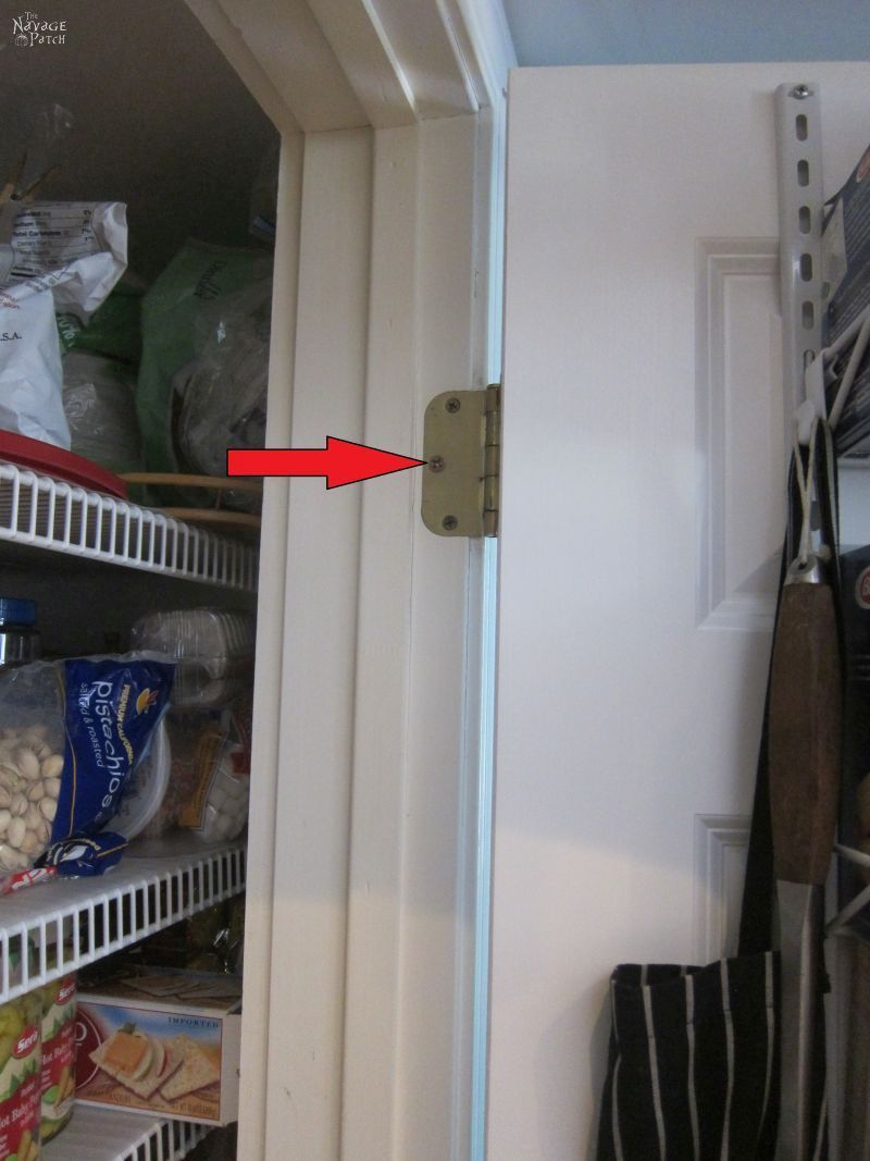 How to Fix a Sagging Door | TheNavagePatch.com